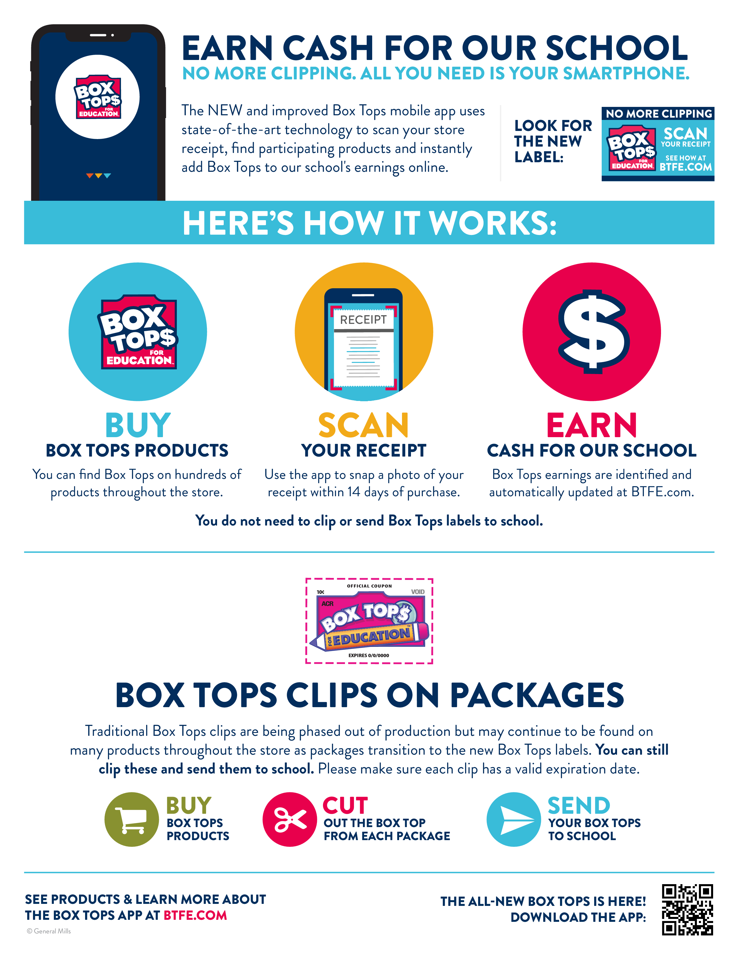 Box tops instructions